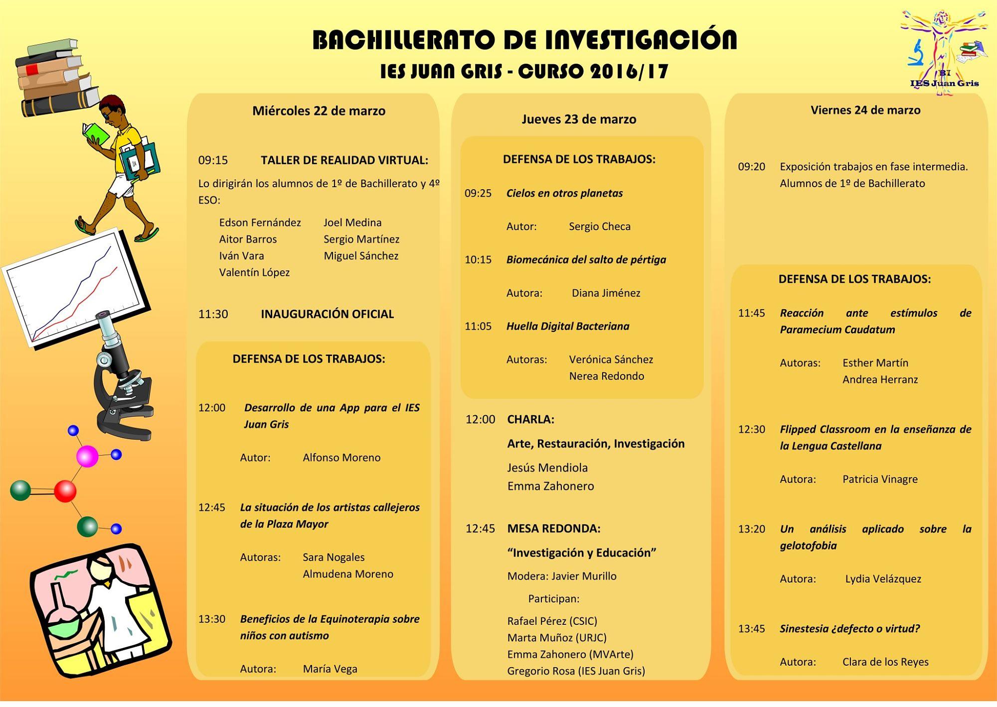 Programa Semana de la Investigación